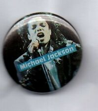 MICHAEL JACKSON Bad, Thriller, Beat It BUTTON BADGE 80s ERA KING OF POP 25mm Pin