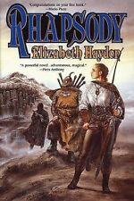 Rhapsody : Child of Blood 1 by Elizabeth Haydon (1999, Hardcover, Revised)