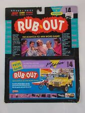 Rub Out The Scratch to Win Word Game Galoob 1989 Novelty