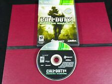 XBOX 360 CALL OF DUTY 4 MODERN WARFARE GAME No Instructions
