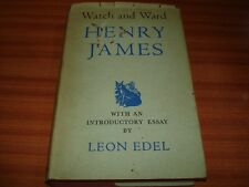 WATCH AND WARD BY HENRY JAMES 1960 EDITION HARDBACK