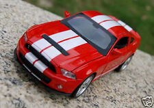 Ford Shelby GT500 1:32 Alloy Diecast Car Model Sound & Light Collection Red