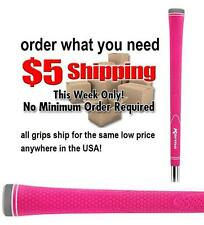 HOT NEON PINK GOLF CLUB GRIP 1 PIECE SIZE UNDERSIZE LADIES WOMENS PRIDE GRIPS