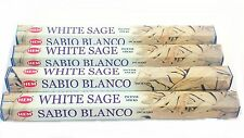 Hem White Sage Incense Sticks  x 4 Boxes 20 per box Pagan Wiccan Protection