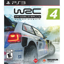 WRC 4: FIA World Rally Championship - Sony PlayStation 3 PS3 Game New