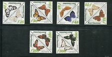 Surinam Scott 975-86 Butterflies Pairs, NH 1994
