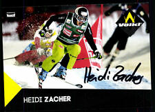 Heidi Zacher Autogrammkarte Original Signiert + A 106307