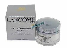 Lancome High Resolution Refill-3X Anti Wrinkle Cream SPF15 1.7oz/50g NIB