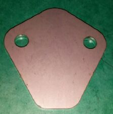 STAINLESS Fuel Pump Blank Plate Ford Essex V4 V6 Engine Reliant Volvo Marcos TVR