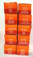 Kadus FERVIDOL Brilliant Professional Hair Color~Lot of 10 Pre-Selected Shades#1