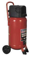 Sealey Portable 2HP 50L 50 Litre Tank Oil Free Vertical Electric Air Compressor