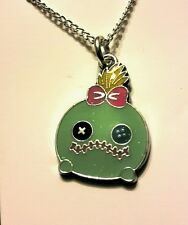 Lilo and Stitch Scrump pendant chain necklace 18 inch kawaii