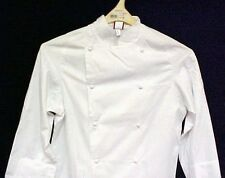 Dickies White Grand Master Chef Coat CW070101 Jacket Egyptian Cotton Twill 50