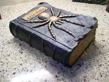 "NWT 8.5"" RAZ SPIDER  Arachnid HALLOWEEN PROP Table top WITCHES SPELL BOOK"