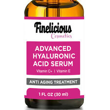 BEST HYALURONIC ACID SERUM with VITAMIN C 20%. ANTI AGING MOISTURIZING SERUM.