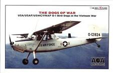 "AOA Decals 1/72 CESSNA O-1 BIRD DOG IN THE VIETNAM WAR ""The Dogs of War"""