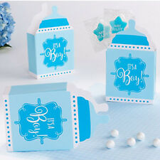 BABY SHOWER It's a Boy BOTTLE SHAPED FAVOR BOXES (24) ~ Party Supplies Treat