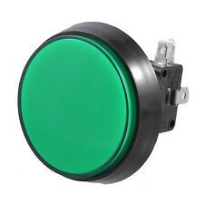 Arcade Game 52mm Green Illuminated Momentary Push Button SPDT Micro Switch