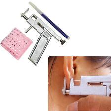 Navel 98pcs Body Piercing Gun Steel Tool Kit Ear Nose Set Studs Professional