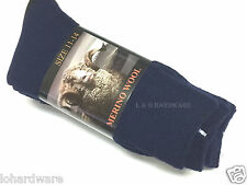 3 Pair MERINO WOOL MENS WORK SOCKS SIZE 11-14(brand New)--