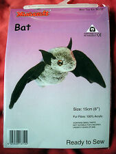 BAT MINI toy making kit da Minicraft-pronto a Sew