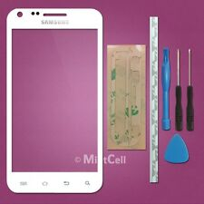 White LCD Screen Front Glass Lens Samsung Galaxy S2 S II Sprint EPIC 4G SPH D710