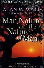 AUDIO TAPE ALAN WATTS MAN NATURE & NATURE OF MAN NEW FACTORY SEALED