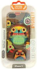 Cygnett ICON Series Nathan Jurevicius - Hoots Art iPhone 5/5s Case + Screen Prot