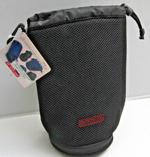 """9"""" Soft Lens and Filter Pouch Op/Tech Black 0501132 Drawstring - NEW K01"""