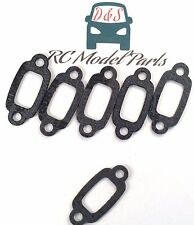 6pcs Exhaust/muffler Gasket for HPI 15481 Rovan King Motor Baja 5B 5T Yama buggy