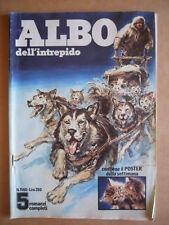 Albo dell' Intrepido n°1560 1976 - Il lungo viaggio    [G360]