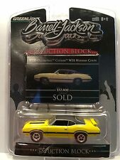 Greenlight Auction Block~1970 Oldsmobile Cutlass W31 Holiday Coupe~Rubber Tires