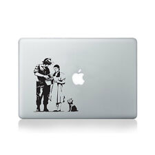 Banksy Wizard of Oz Stop and Search Vinyl Sticker for Macbook (13/15), Laptop...