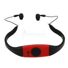 4GB Waterproof Sport MP3 Player with FM Radio for Swimming Surfing Diving