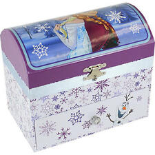 Disney Frozen Musical Jewelry Box with Drawer NIB