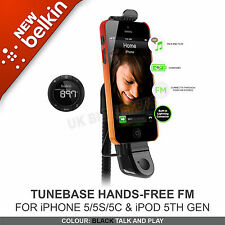 Belkin Tunebase FM Lightning Handfree Transmitter clearscan for iPhone 5 5s se