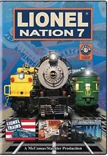 Lionel Nation 7 DVD NEW- 700E Vision Hudson MPC Locomotives toy trains kids