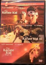 The Karate Kid: PART l, ll, and lll (3 DVD triple feature) *NEW* Macchio &Morita