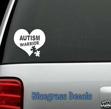 A1005 AUTISM WARRIOR DECAL STICKER