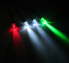 R/C Helicopter Plane Airplane - 4 Navigation Flashing White LED Light Kit 5mm