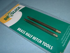 Dr. Slick Half Hitch Two (2) Tools Brass Fly tying Tool HHT