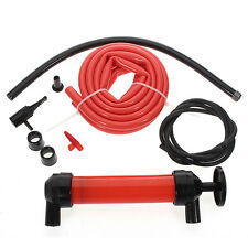 Syphon Siphon Tool Transfer Oil Petrol Diesel Fuel Liquid Extractor Air Pump Kit