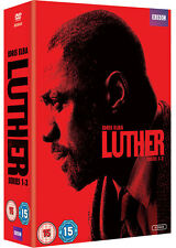 Luther: The Complete BBC Series (Season) 1 2 & 3 Collection Box Set | New | DVD