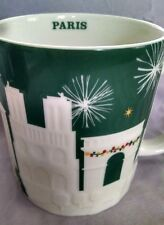 Starbucks Mug - Paris Christmas Relief Mug - 18 oz - New with Tag