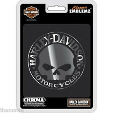 HARLEY DAVIDSON WILLIE G. AUTO EMBLEM STICKER DECAL