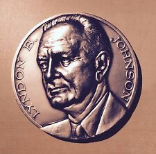 President Lyndon B. Johnson Presidental Seal 1963 Medal 5 CM Diameter