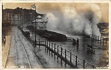POSTCARD  SUSSEX  HASTINGS    A  Stormy  Day