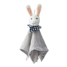 IKEA Children kids Baby Blanket with Bunny Soft Toy Leka Snuggle New Great Gift