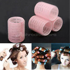 12 Large Grip Cling Hair Styling Roller Curler Hairdressing tool Soft DIY New