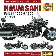 1987-2008 Kawasaki Vulcan VN1500 VN1600 Repair Manual 2004 2005 2006 2007 9137